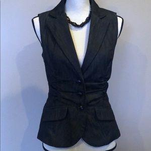 Charcoal Vest Top